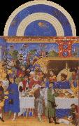 LIMBOURG brothers The Very Rich House of the Duc of Berry oil painting picture wholesale