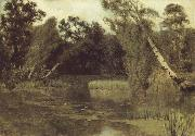 Levitan, Isaak In the park oil painting picture wholesale