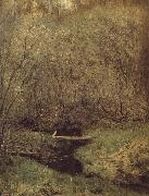 Levitan, Isaak Fruhing in the forest oil painting picture wholesale