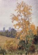 Levitan, Isaak Antumn Landscape with Church oil painting picture wholesale
