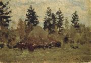 Levitan, Isaak Heuschober oil painting picture wholesale