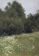 Levitan, Isaak Meadow at the forest edge oil painting picture wholesale