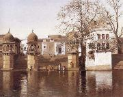 Lockwood de Forest One of the Twenty-four Ghats at Mathura oil painting picture wholesale