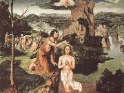 PATENIER, Joachim The Baptism of Christ oil painting picture wholesale