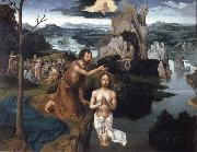 PATENIER, Joachim Baptism of Christ oil painting picture wholesale