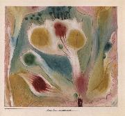 Paul Klee Tropical blossom oil painting picture wholesale