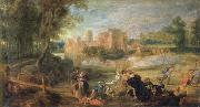 Peter Paul Rubens Castle Park oil painting picture wholesale