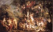 Peter Paul Rubens Feast of Venus oil painting picture wholesale