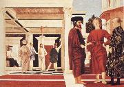 Piero della Francesca The Flagellation of Jesus oil painting picture wholesale