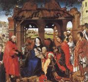 Rogier van der Weyden St.Columba Altarpiece oil painting picture wholesale