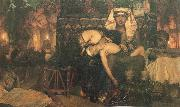 Sir Lawrence Alma-Tadema,OM.RA,RWS The Death of the first Born oil painting artist