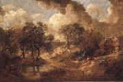 Thomas Gainsborough Suffolk landscape oil painting picture wholesale