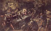Tintoretto The communion oil painting artist