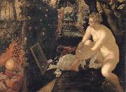 Tintoretto Susanna and the elders oil painting artist
