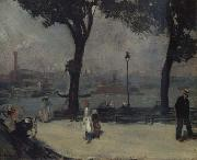 William Glackens Park on the River oil painting picture wholesale