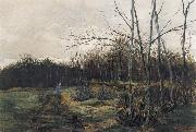 William Stott of Oldham Woodgathering oil painting picture wholesale