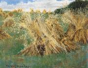 William Stott of Oldham Wheat Sheaves oil painting picture wholesale