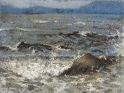 William Stott of Oldham Breaking Wave oil painting picture wholesale