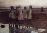 William Stott of Oldham The Kissing Ring oil painting picture wholesale