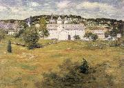 julian alden weir Williamntic Thread Factory oil painting artist