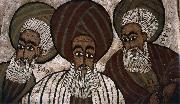unknow artist The three patriarchs: Abraham, Isaak and Jakob oil painting picture wholesale