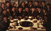 ANTHONISZ  Cornelis Banquet of Members of Amsterdam's Crossbow Civic Guard oil painting picture wholesale