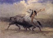 Albert Bierstadt Last of the Buffalo oil painting picture wholesale