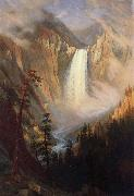 Albert Bierstadt Yellowstone Falls oil painting picture wholesale