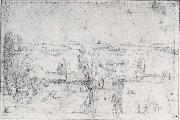 Albrecht Durer The Wire-Drawing Mill on the pegnita oil painting picture wholesale