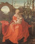 Albrecht Durer The Madonna with the Iris imitator of Albrecht Durer oil painting picture wholesale