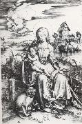 Albrecht Durer The Madonna with the Monkey oil painting picture wholesale