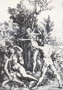 Albrecht Durer Hercules at the Crossroads oil painting picture wholesale