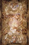 Andrea Pozzo The apotheosis of St. lgnatius oil painting artist