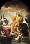 Andrea Sacchi The three Mary magdalene oil