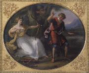 Angelica Kauffmann Nymphe und Jungling oil painting picture wholesale