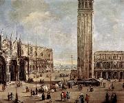 Antonio Stom View of the Piazza San Marco from the Procuratie Vecchie oil painting picture wholesale