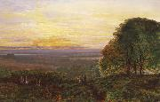 Atkinson Grimshaw Sunset from Chilworth Common oil painting picture wholesale