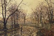 Atkinson Grimshaw Sixty Years Ago oil painting picture wholesale