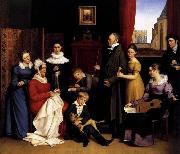 BEGAS, Carl the Elder The Begas Family oil painting picture wholesale