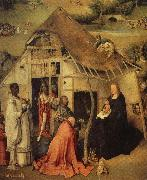 BOSCH, Hieronymus The adoration of the three Kings oil painting picture wholesale