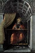 BOTTICELLI, Sandro St Augustine in His Cell oil painting picture wholesale