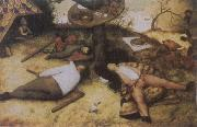 BRUEGEL, Pieter the Elder The Land of Cockayne oil painting picture wholesale