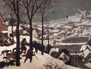 BRUEGHEL, Pieter the Younger The Hunters in the Snow oil painting picture wholesale