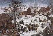 BRUEGHEL, Pieter the Younger The Numbering at Bethlehem oil painting picture wholesale