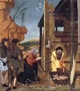BUTINONE, Bernardino Jacopi The Adoration of the Shepherds oil painting picture wholesale