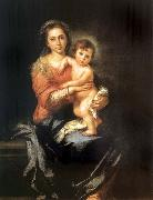 Bartolome Esteban Murillo The Madonna and the Nino oil painting picture wholesale