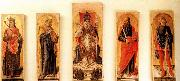Bartolomeo Vivarini St Ambrose Polyptych oil painting picture wholesale