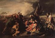 Benjamin West The death of general Wolf oil painting picture wholesale