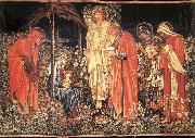 Burne-Jones, Sir Edward Coley The adoracion of the three Kings oil painting picture wholesale