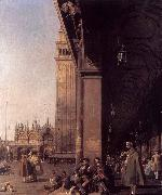 Canaletto Looking East from the South West Corner oil painting picture wholesale